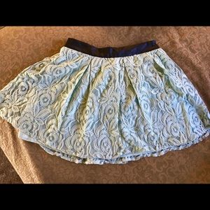 Dresses & Skirts - BCBG MINT LACE MINI SKIRT